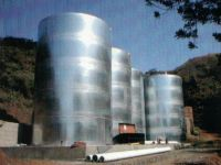 Welded Galvanized Rain Harvesting Tanks- Epoxy Coa