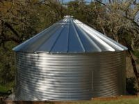 Corrugated Rain Harvesting Tanks - High Rib Roof