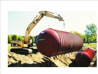 Fiberglass Rain Harvesting Potable Water Tanks